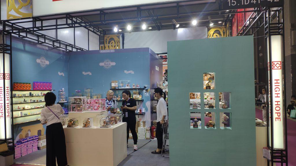2019-10-canton fair-robotime2